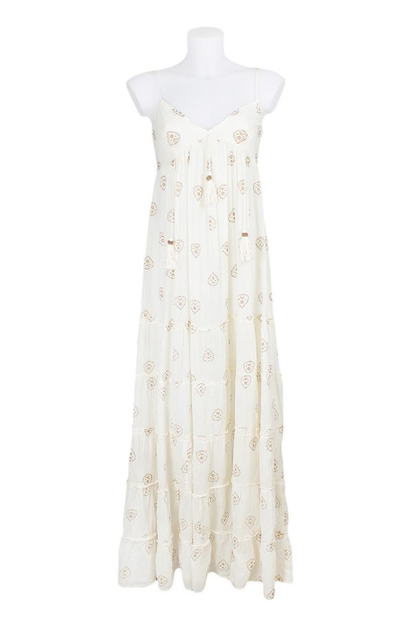 VESTIDO NAGA LARGO - ML - Off White