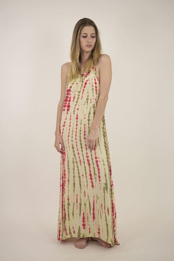 VESTIDO LARGO ANSE - U - Fantasy Watermelon