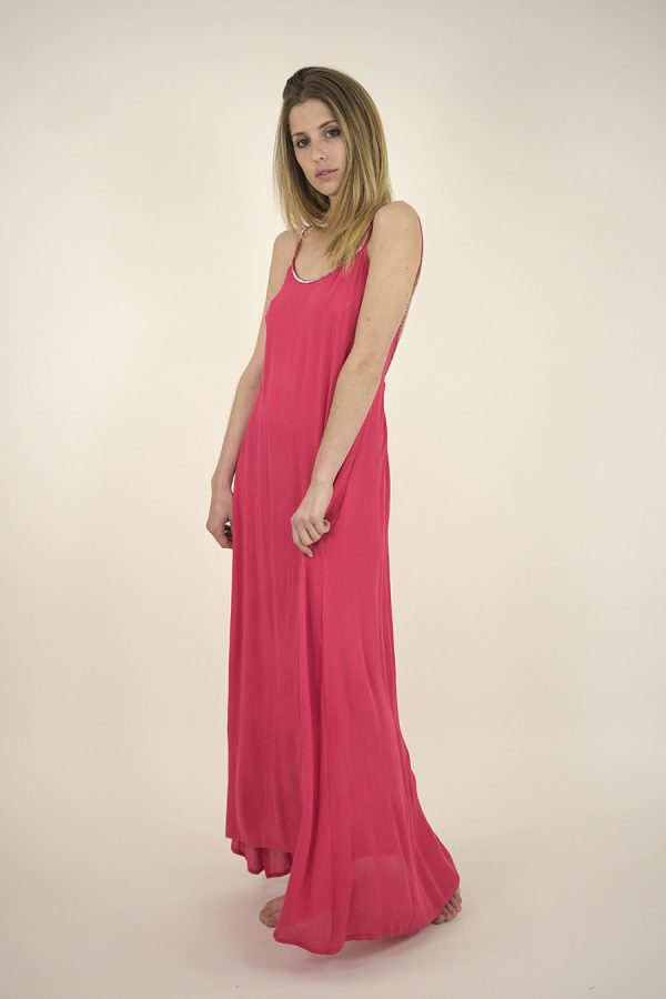 VESTIDO CARA - ML - Watermelon