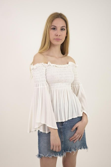 TOP VARISI - U - Off White