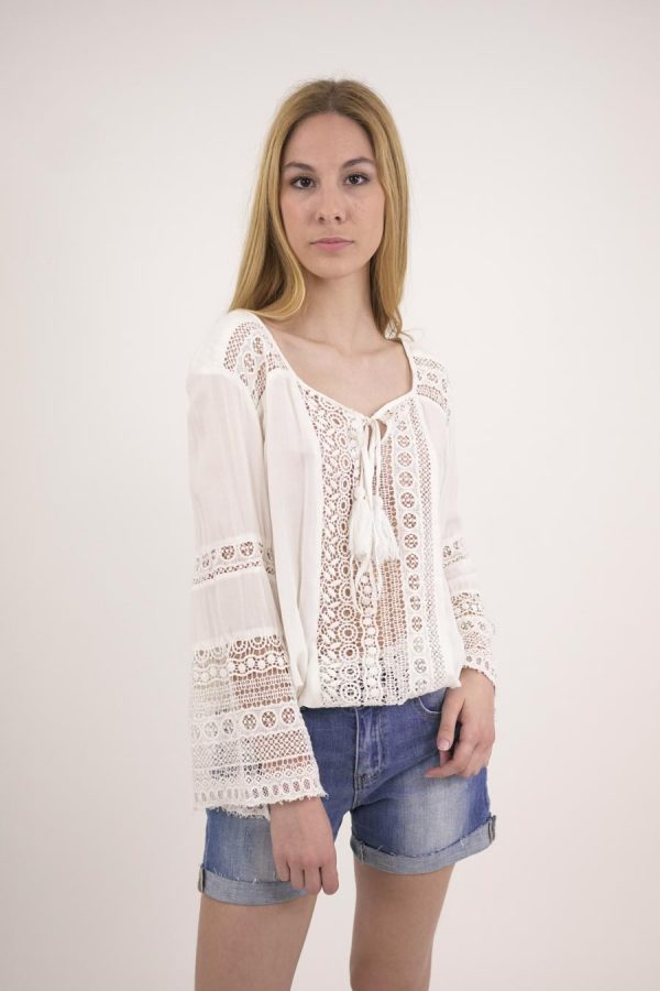 TOP CAMPANILLA - U - White