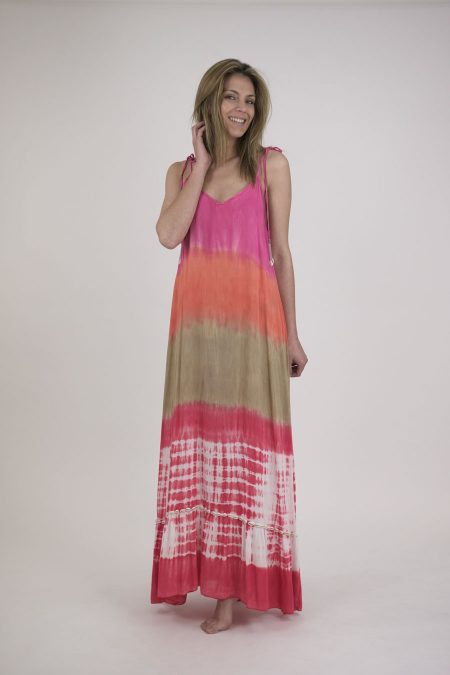 VESTIDO ATLANTICO SHELLS - U - Lotus Watermelon