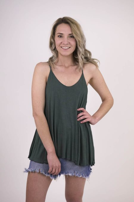 TOP AGATA - U - Dark Grey