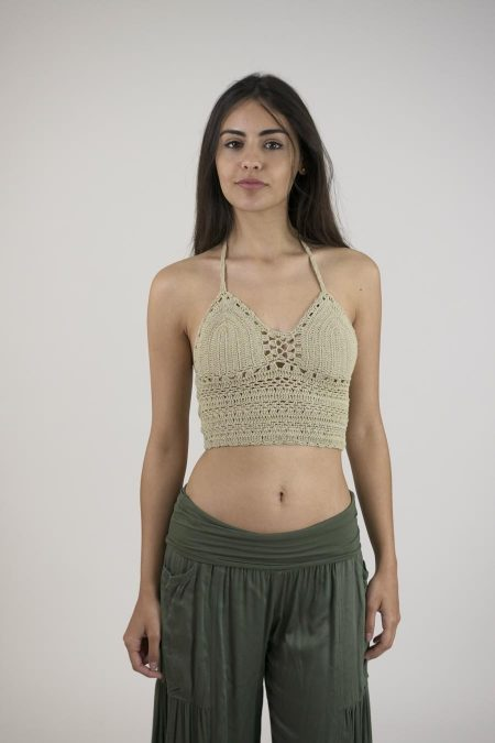 TOP CROCHET 29241 - U - CAMEL
